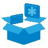 Int. Dim. with gel pack IcePlus Cool in rigid pack (PK)